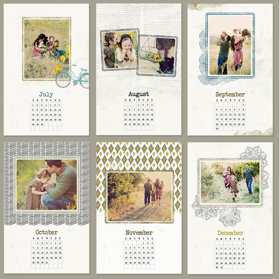 Calendar Template | Календарь, Дизайн Календаря И