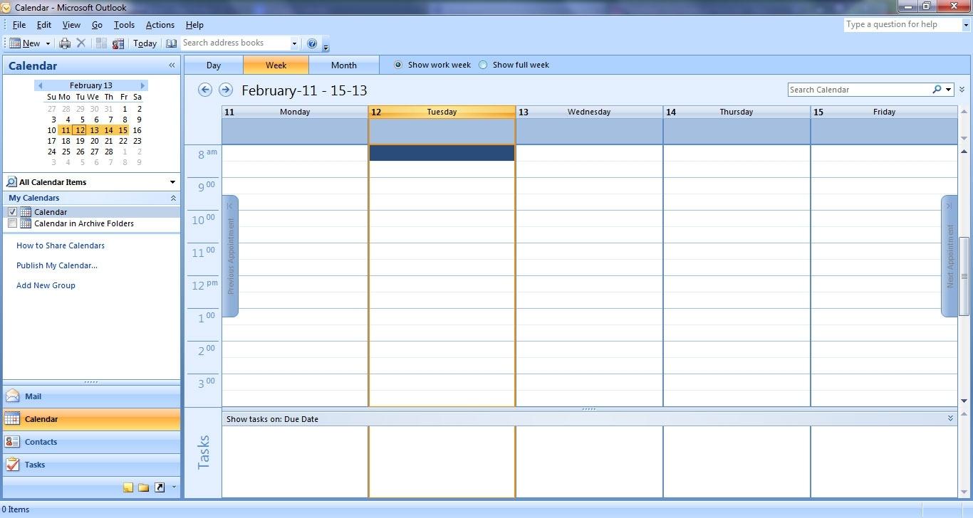 Calendar Week In Outlook | Igotlockedout