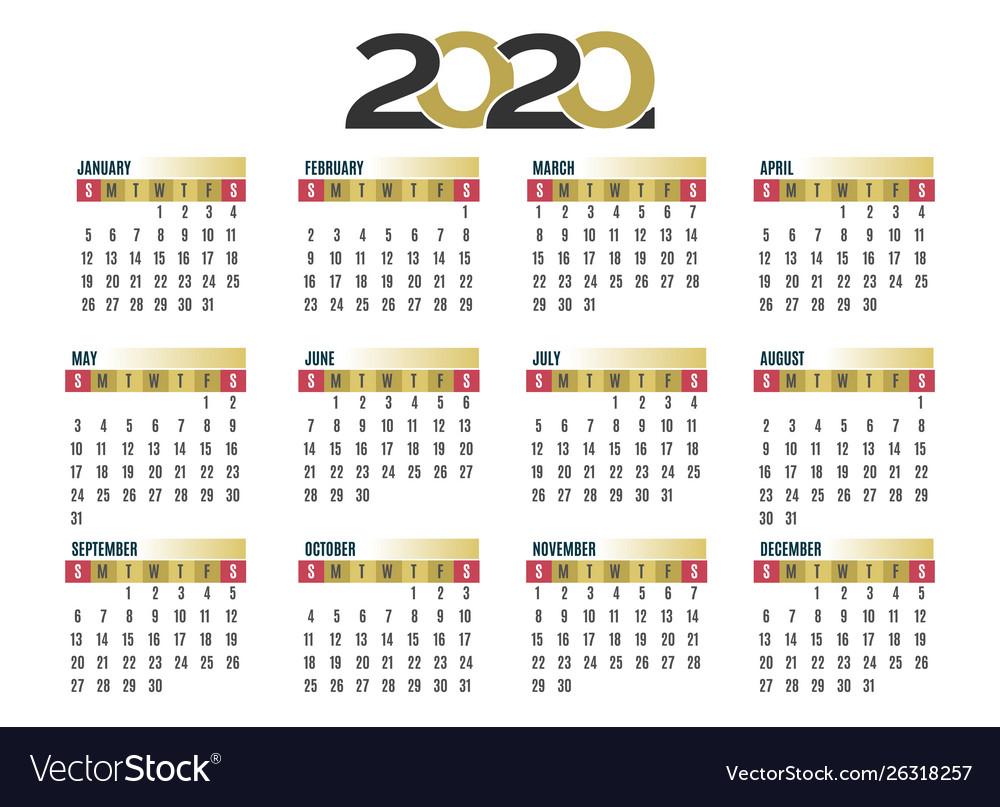 Calendars 2020 - Wpa.wpart.co