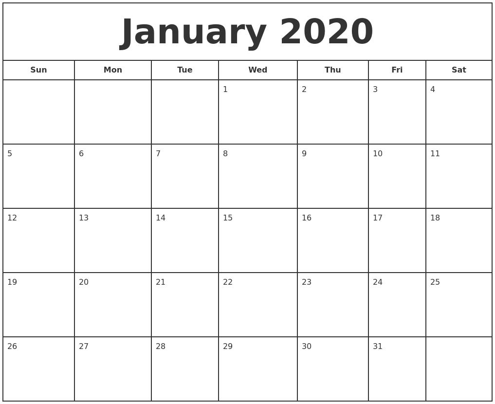 Calendars To Print Free - Wpa.wpart.co