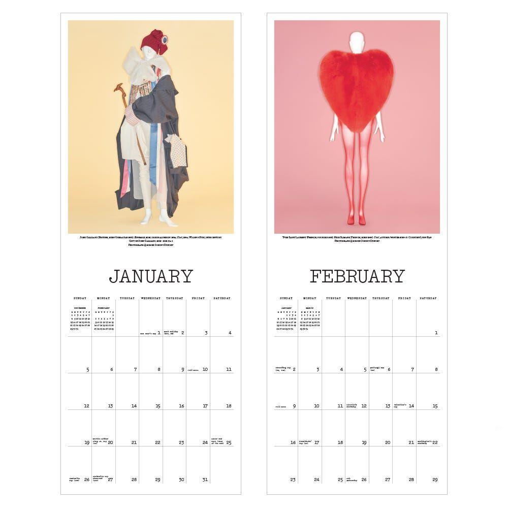 Camp: Notes On Fashion Wall Calendar 2020   Calendar 2020