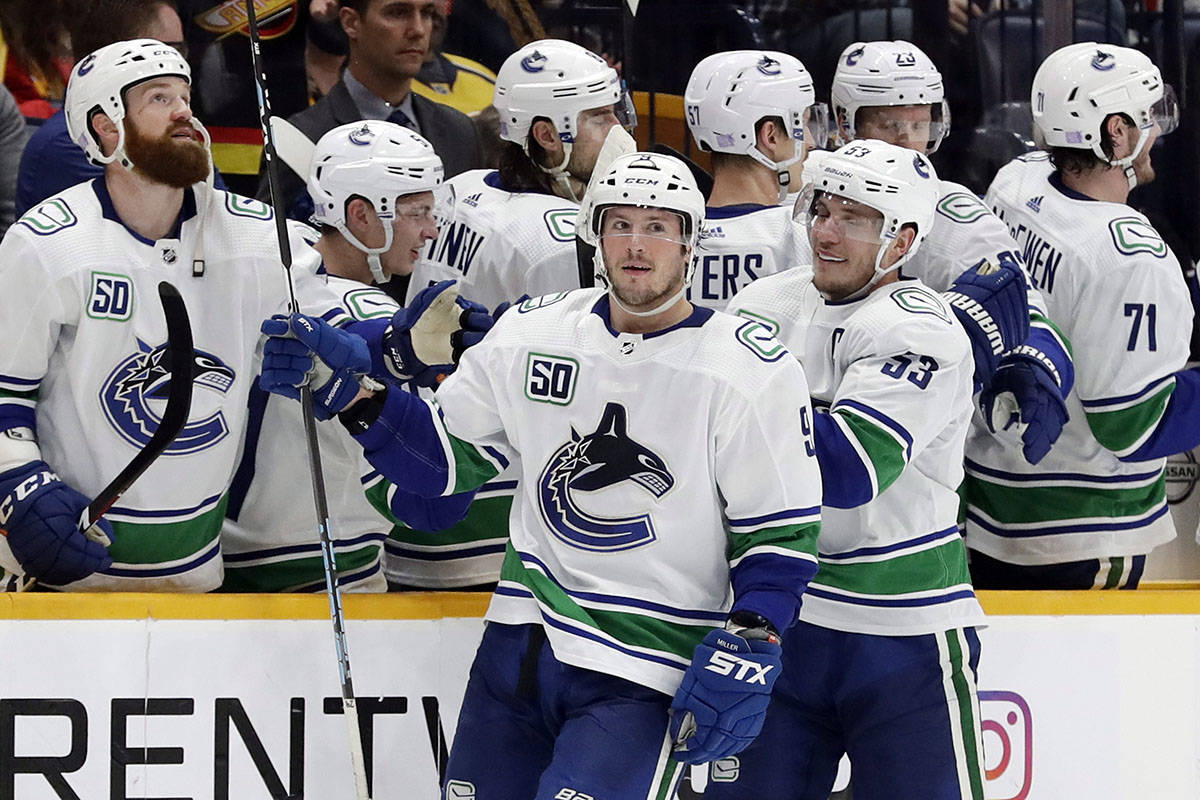 Canucks Erupt With 5 Power-Play Goals In Win Over Nashville