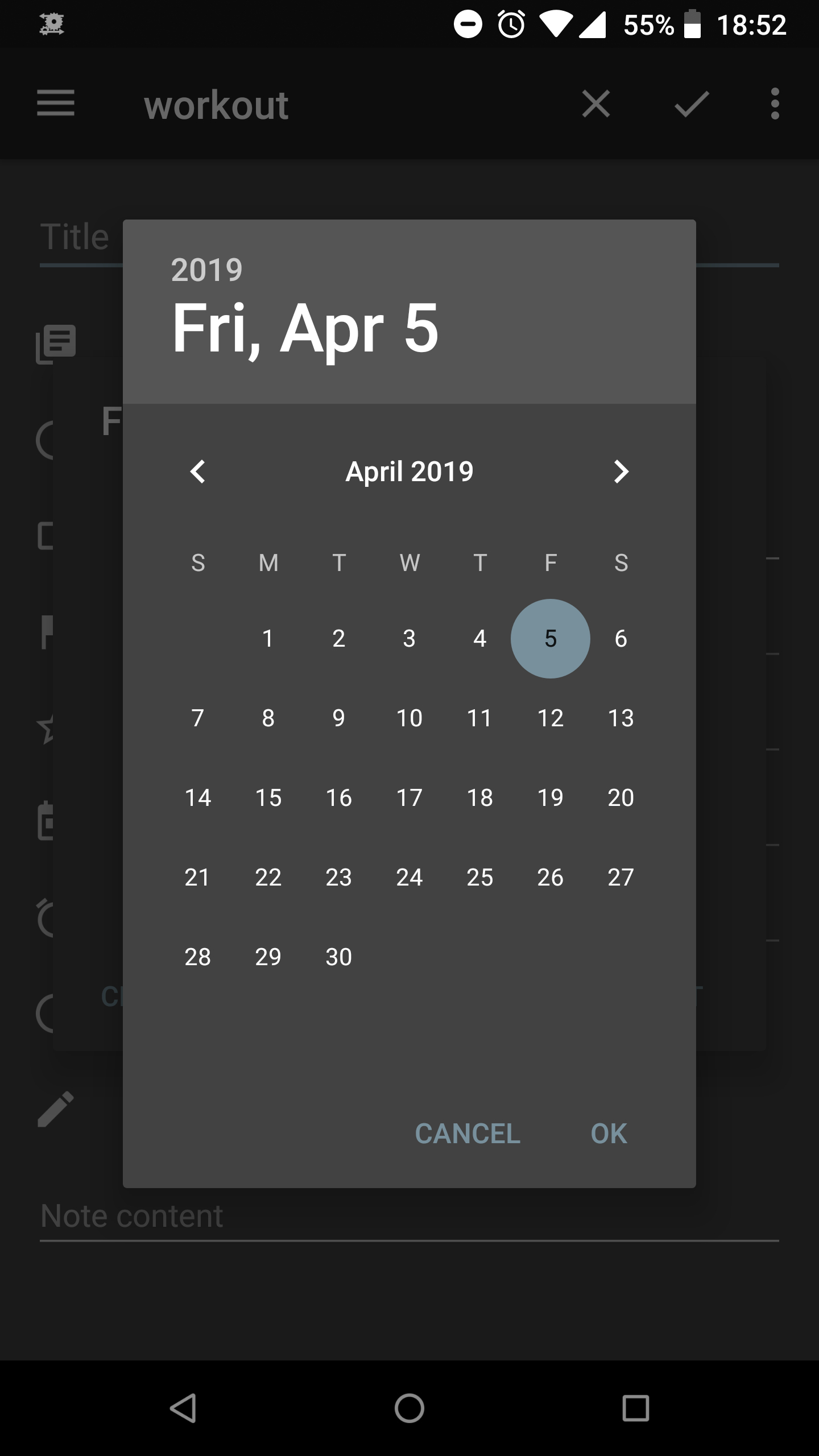 Change Week Start Day In Calendar For Date Selection · Issue
