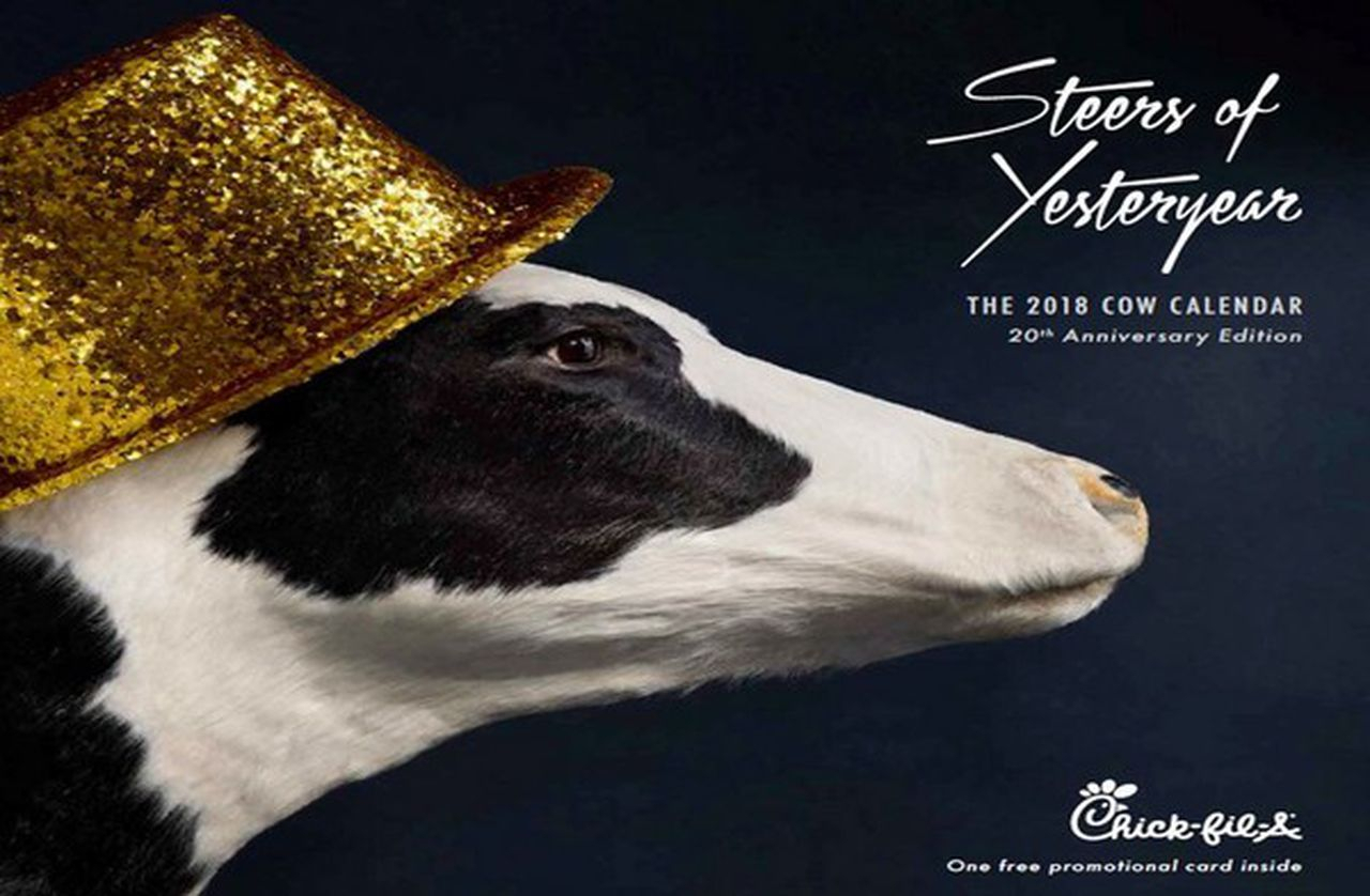 Chick-Fil-A Kills The Cow Calendar And People Aren't Happy