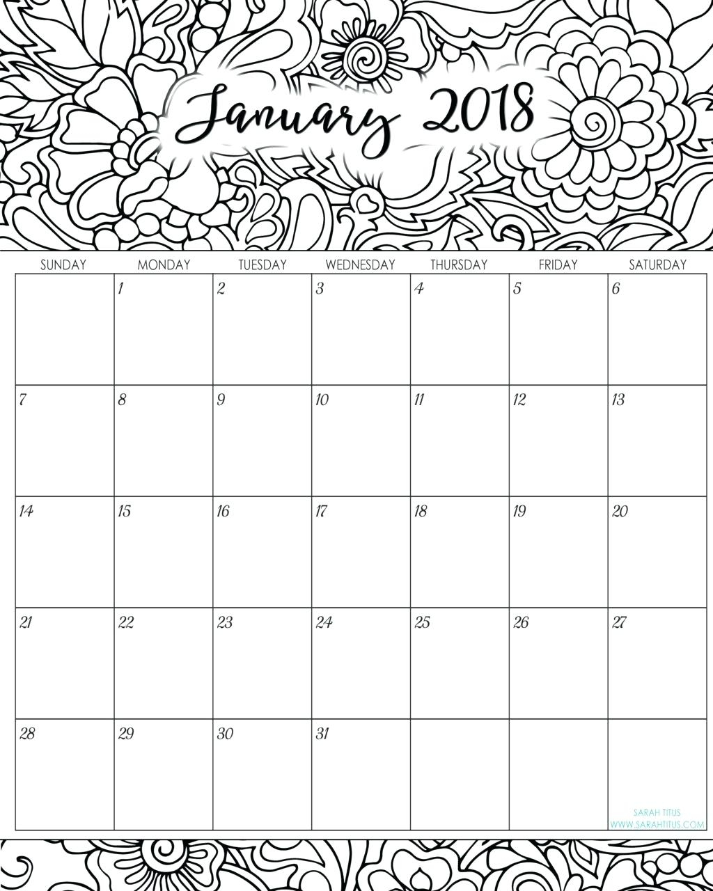 Coloring Book : Coloringalendar For Adults Free Printable