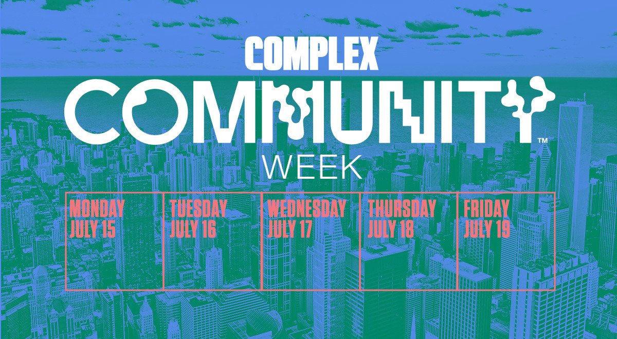 Community Week Calendar - News - Complexcon