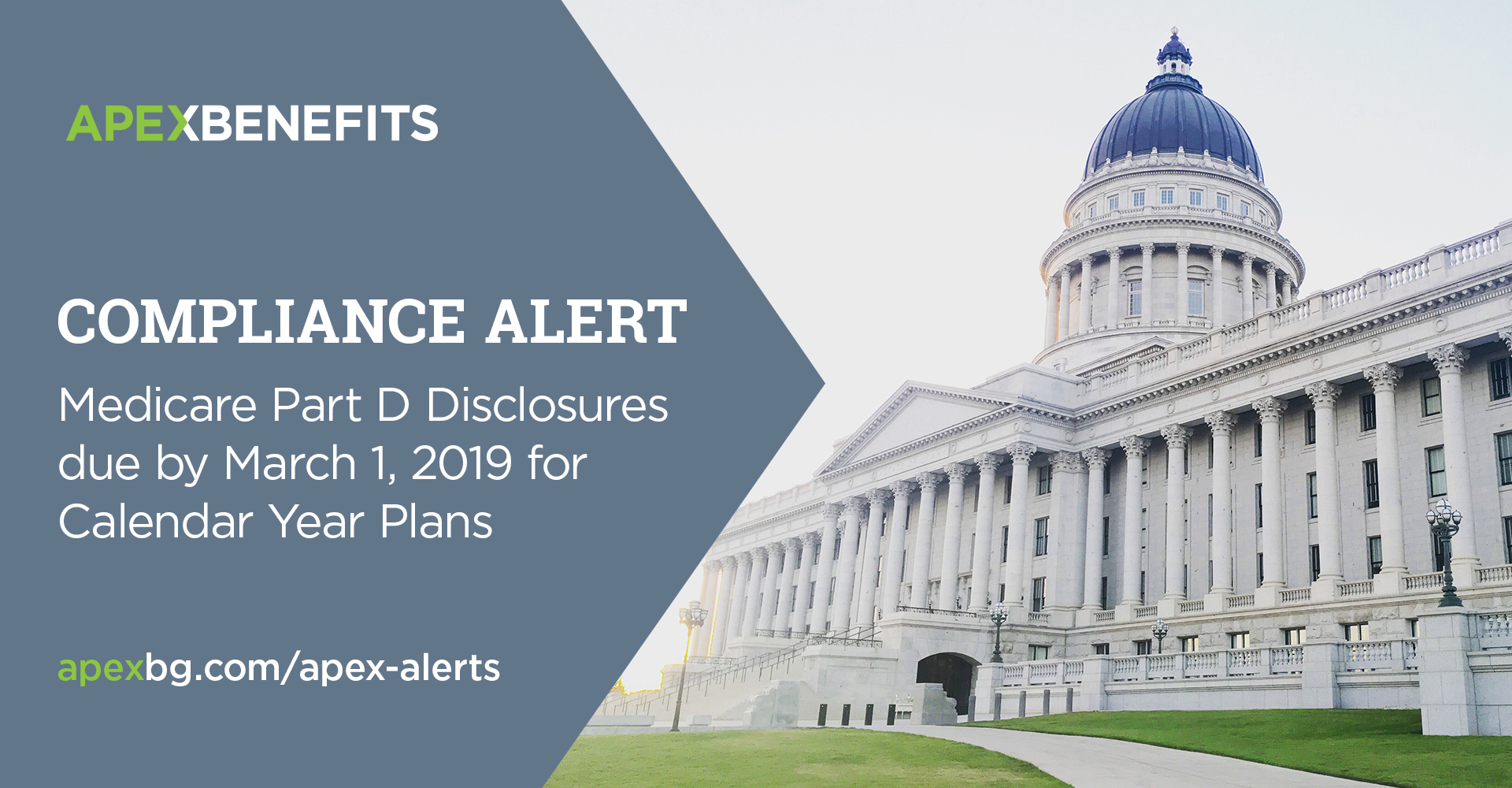 Compliance Alert: Medicare Part D Disclosures Duemarch 1