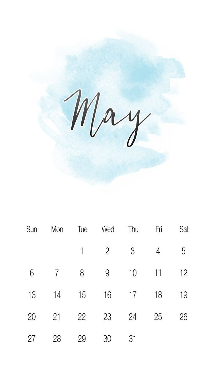 Cool May 2018 Iphone Calendar Wallpapers Images And Photos