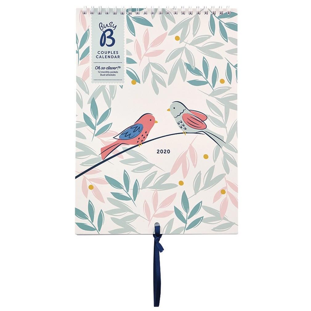 Couples Calendar 2020 - Breezy Blossoms