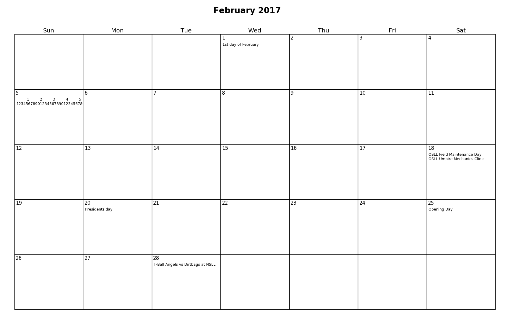 Create A One Month Calendar With Events On It In Python
