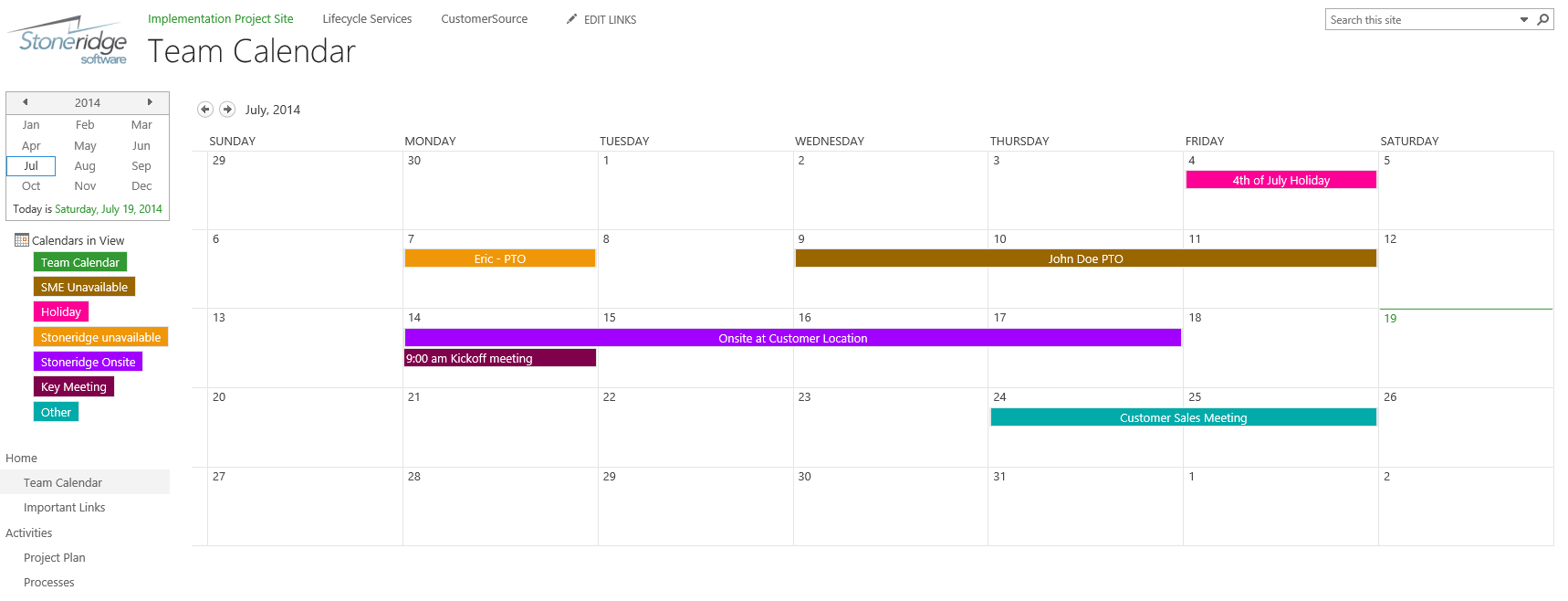 Creating A Color Coded Calendar In Sharepoint Online