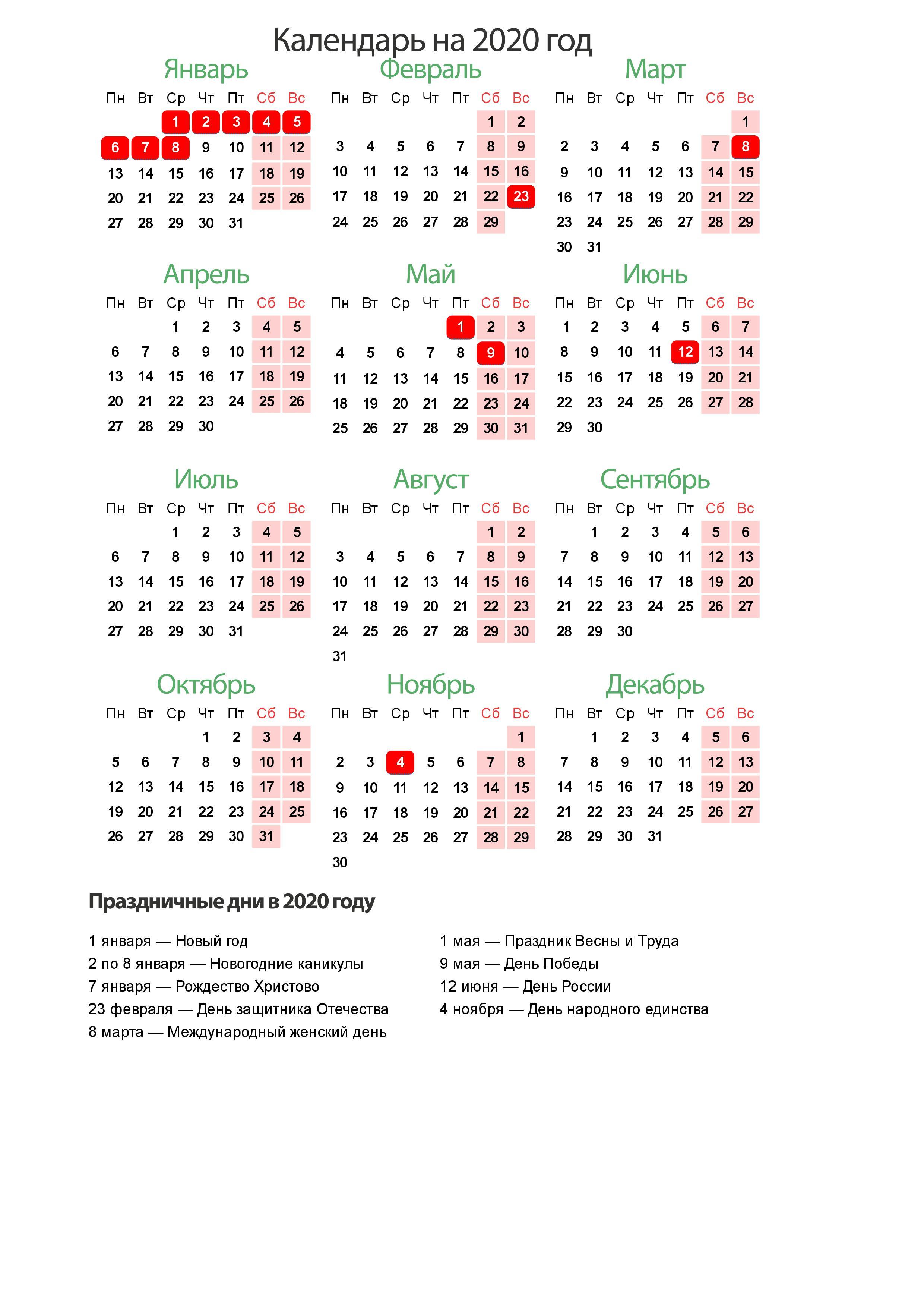 Выходные Дни 2020 В Украине - Подробный Календарь Праздников