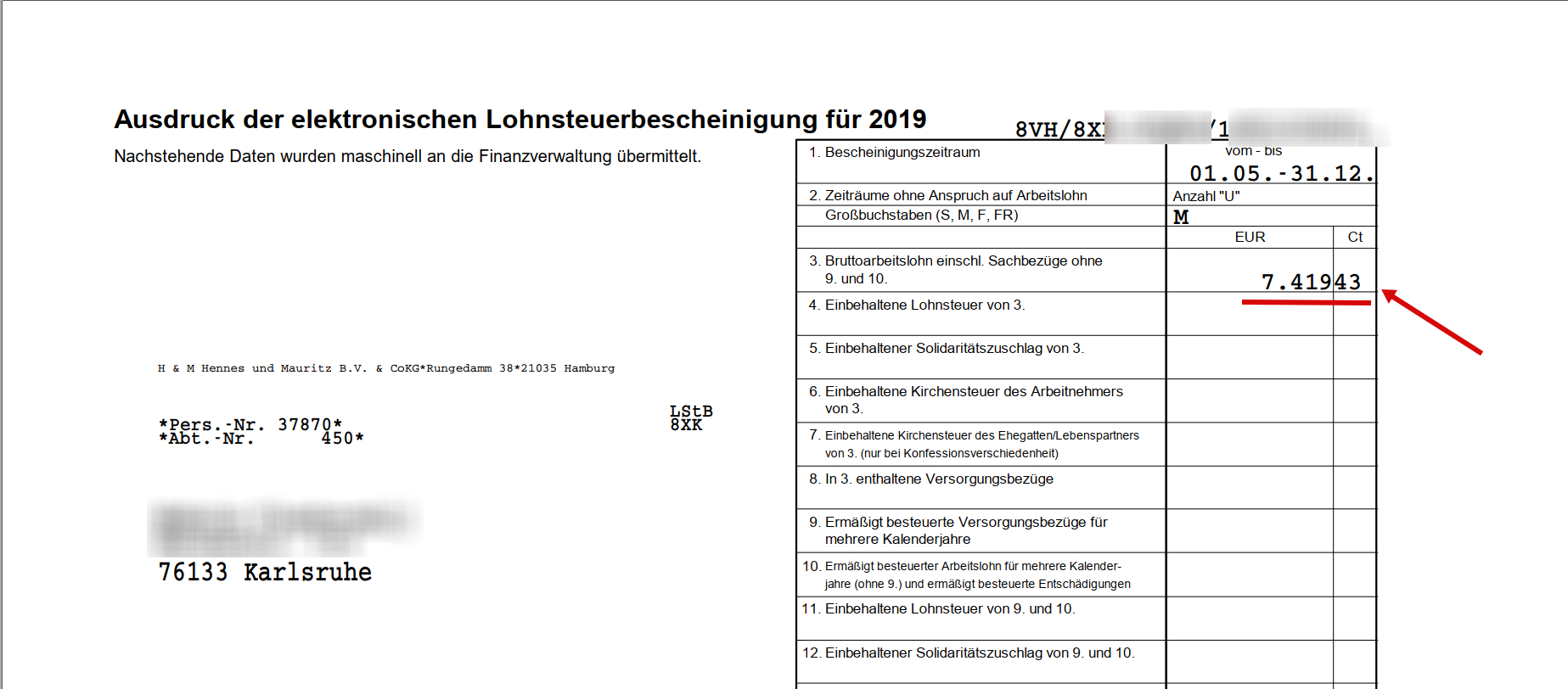 Итоги Полугода Работы В Германии Для Студента.: Taxfree