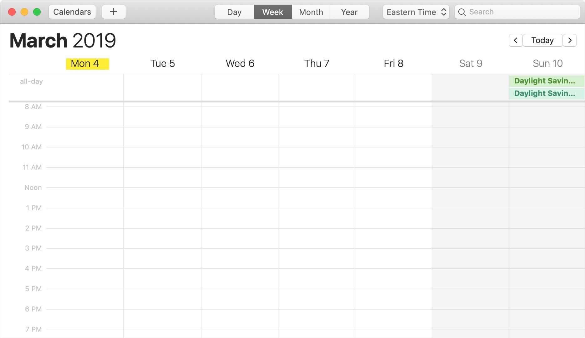 Как Изменить День Начала Недели В Календаре На Iphone/ipad И