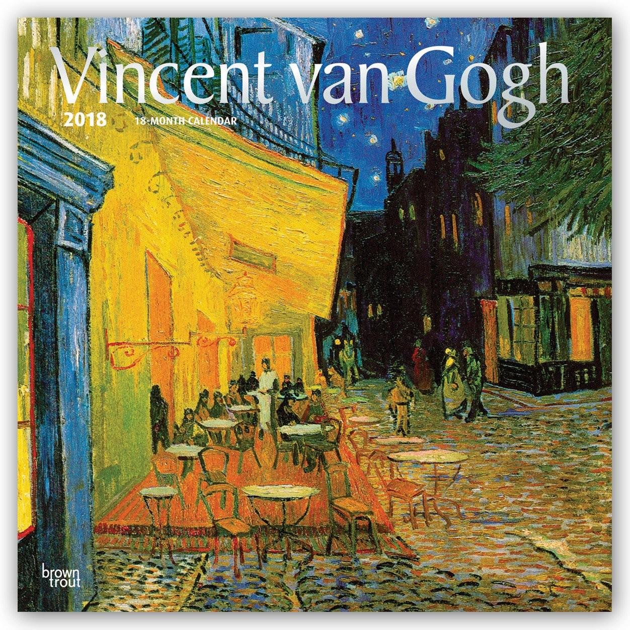 Календар 2020 Vincent Van Gogh