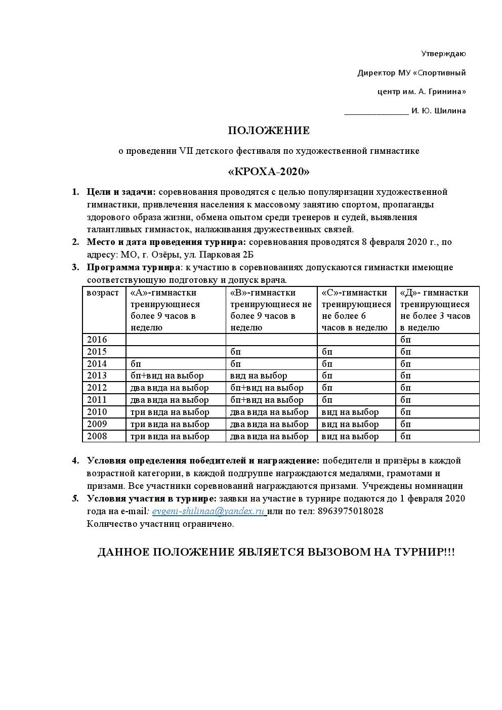 Кроха-2020