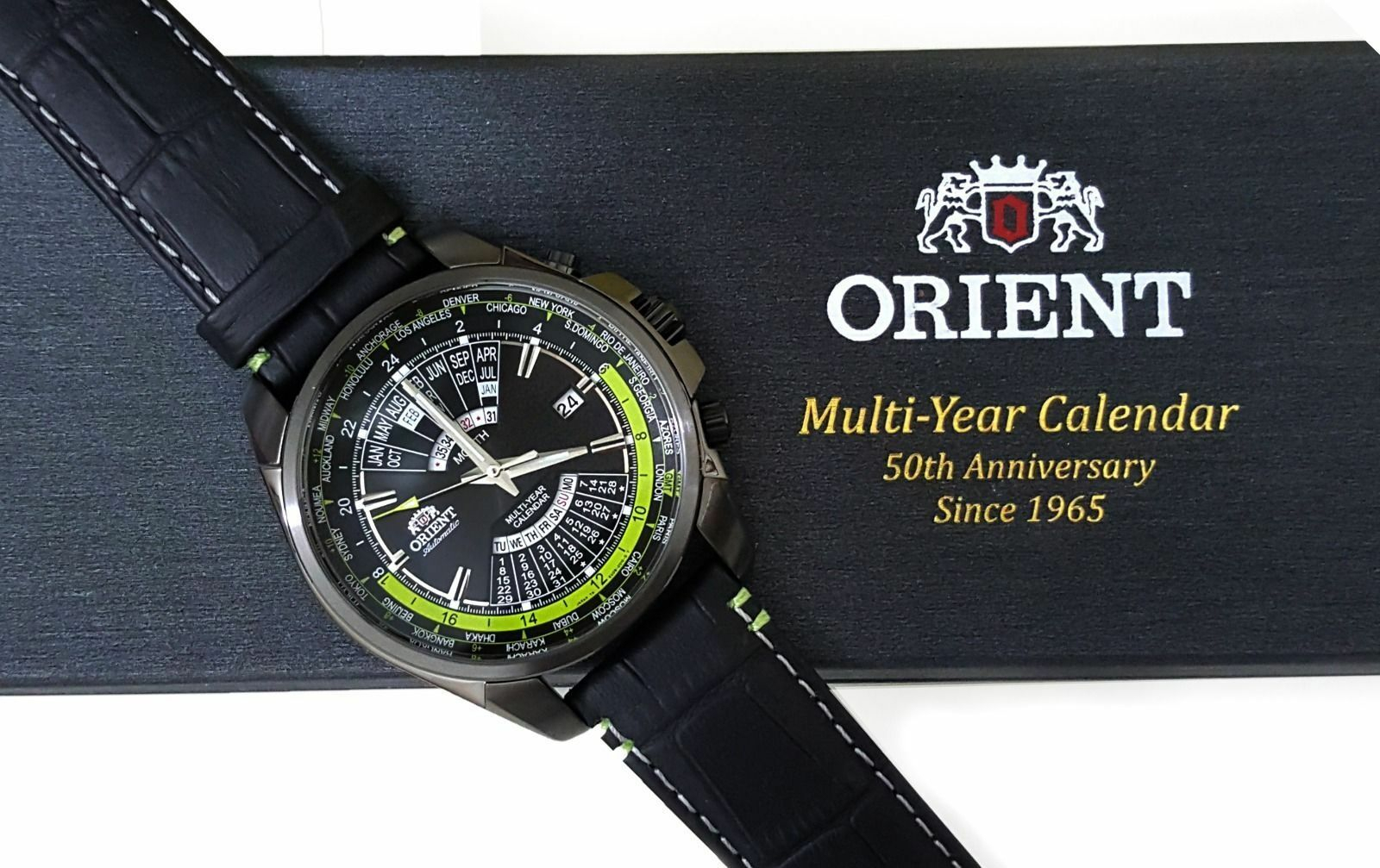 Наручные Часы Orient Limited Edition Sporty Automatic World-Time Multi-Year  Calendar Eu0B005B