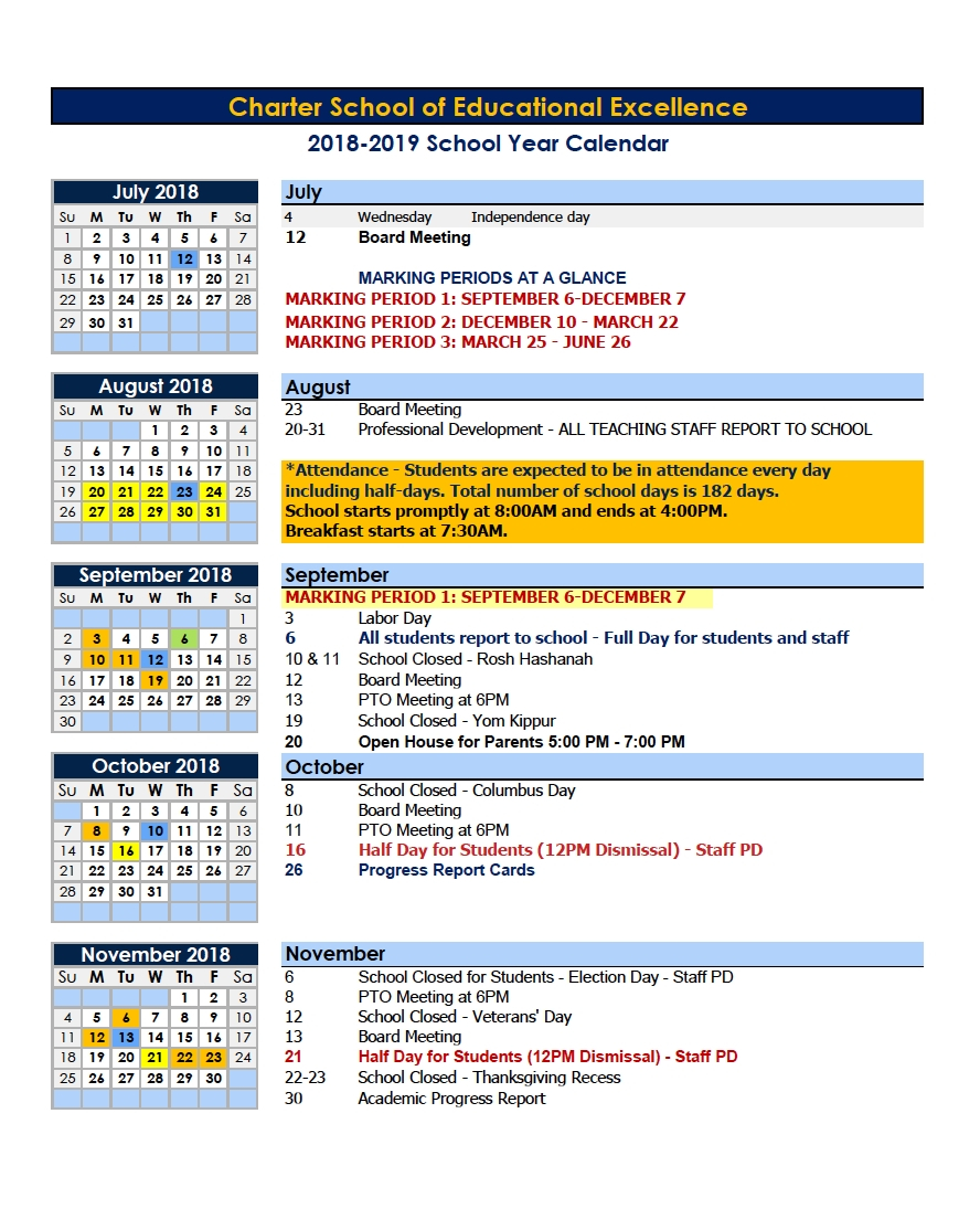 Dandy Year Calendar Of Events 2019 : Mini Calendar Template