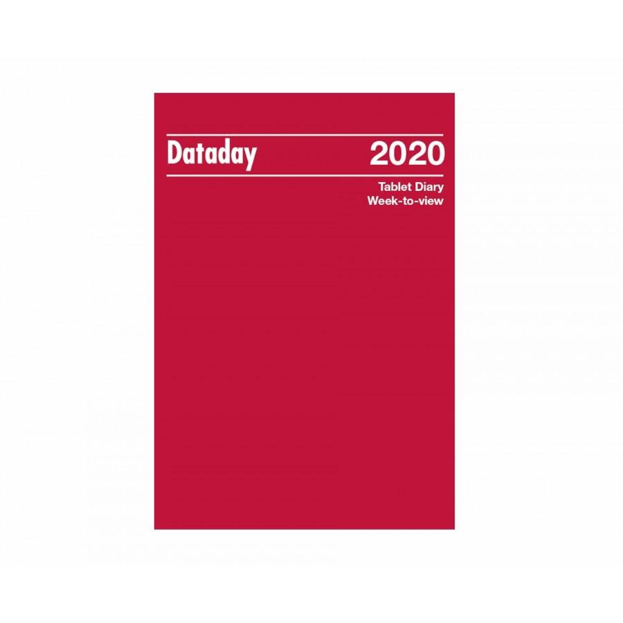 Dataday Wall Calendar Week To View 2020