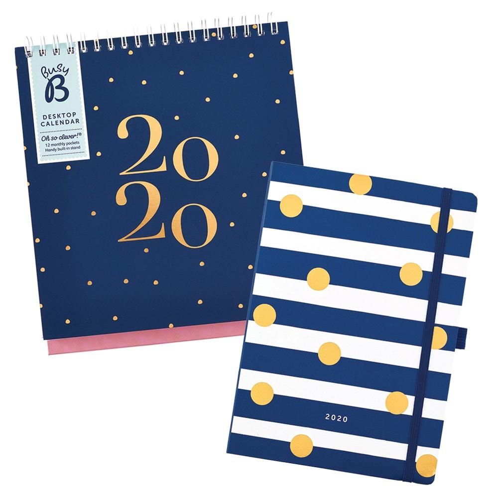 Busy B Desktop Calendar 2020