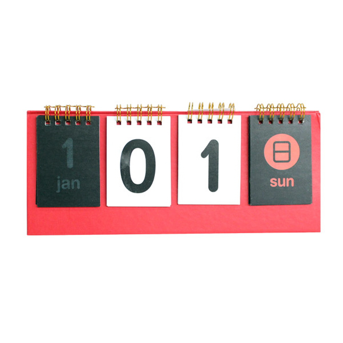Details About [Vicdream] D-Day Standing Desk Calendar Any Year Count Down  Calendar #red