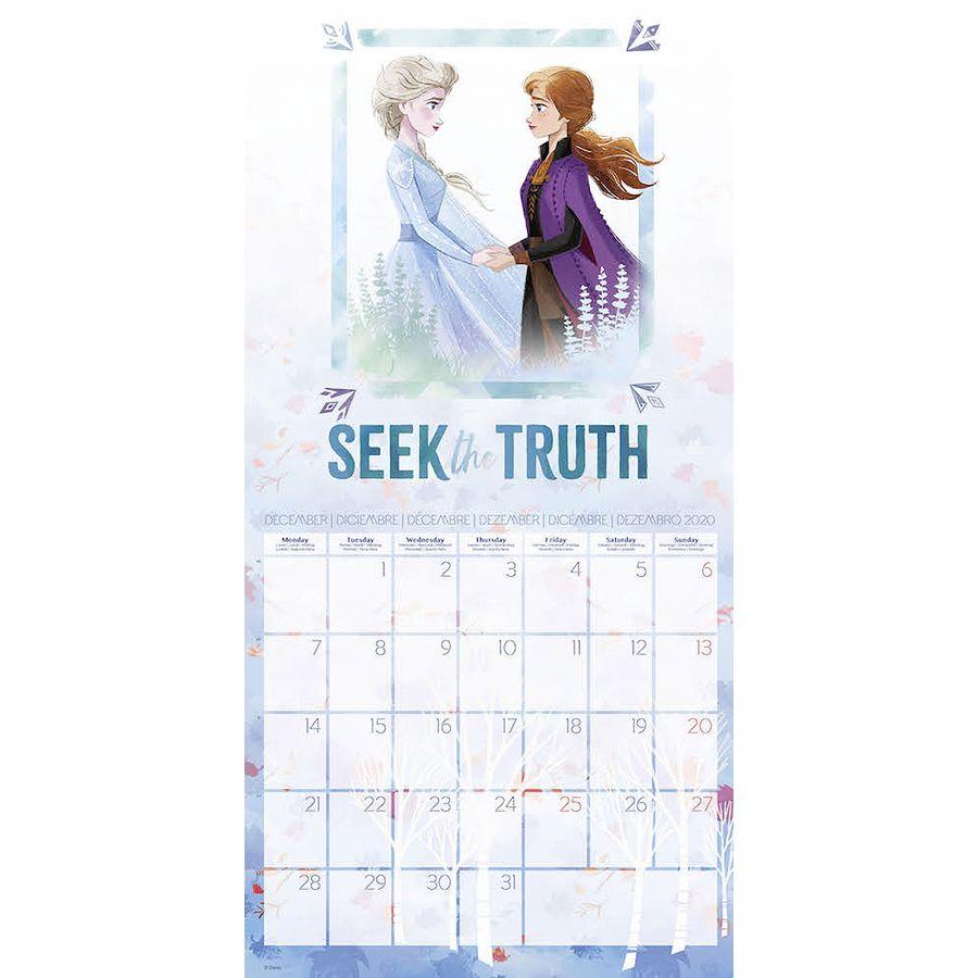 Disney Calendar 2020 Frozen Eiskönigin Inkl. Poster