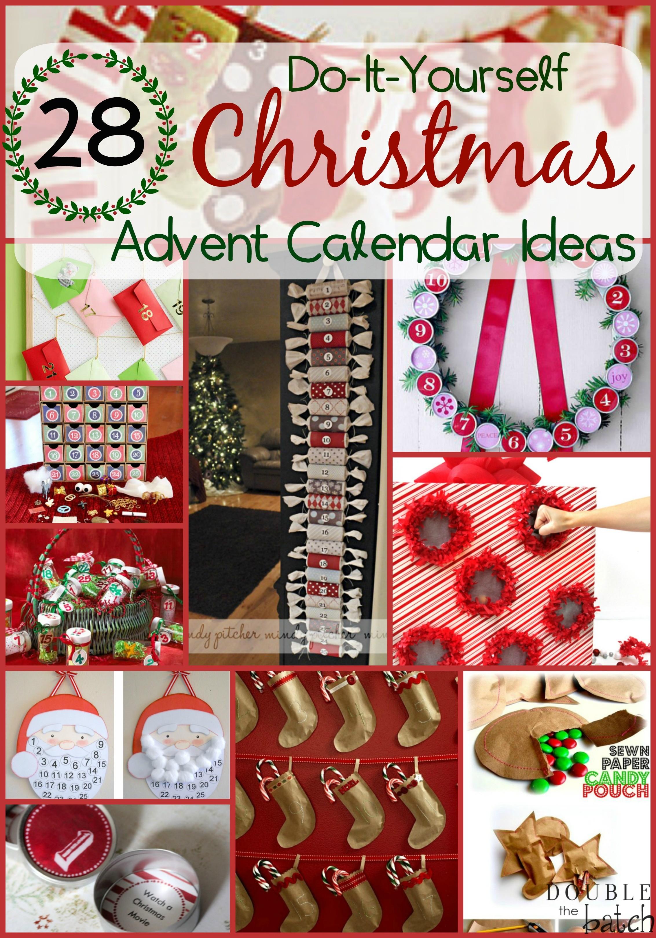 Diy Christmas Advent Calendar Ideas - Decoratorist - #156661