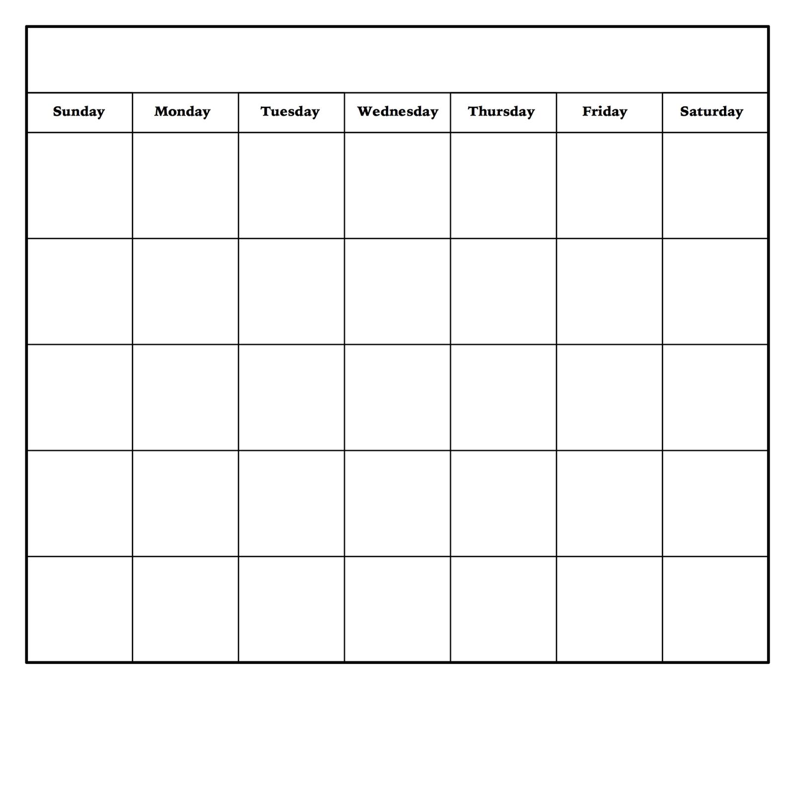 Diy Dry Erase Calendar | Blank Monthly Calendar, Blank