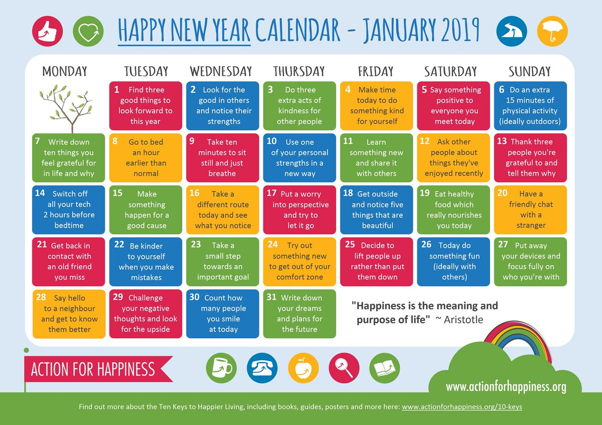 "✨ Christina Dove 🕊 On Twitter: ""2019 #kindness Calendar. I"