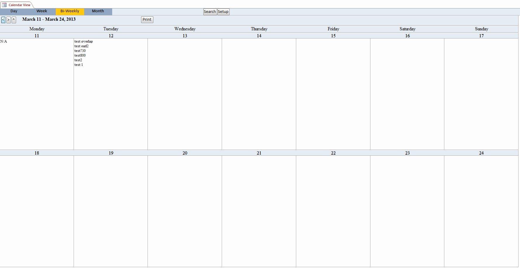 Elegant 56 Design Bi Weekly Calendar 2019 | Monthly Calendar