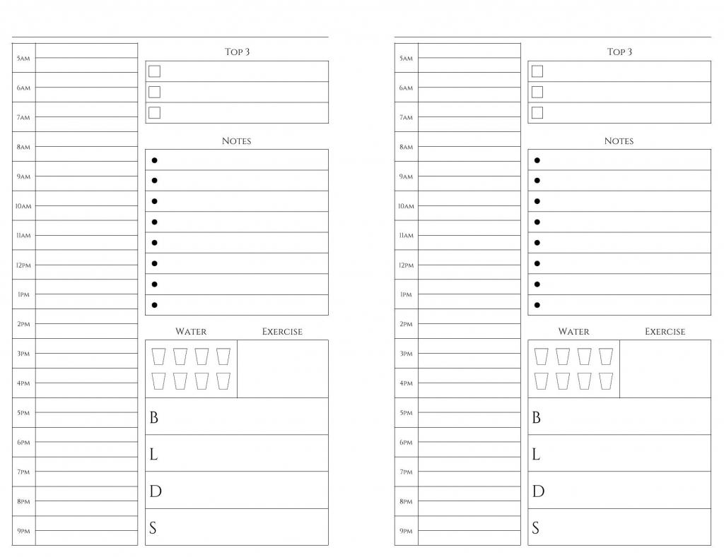Exemplary 5.5 X 8.5 Printable Calendar Pages : Mini Calendar