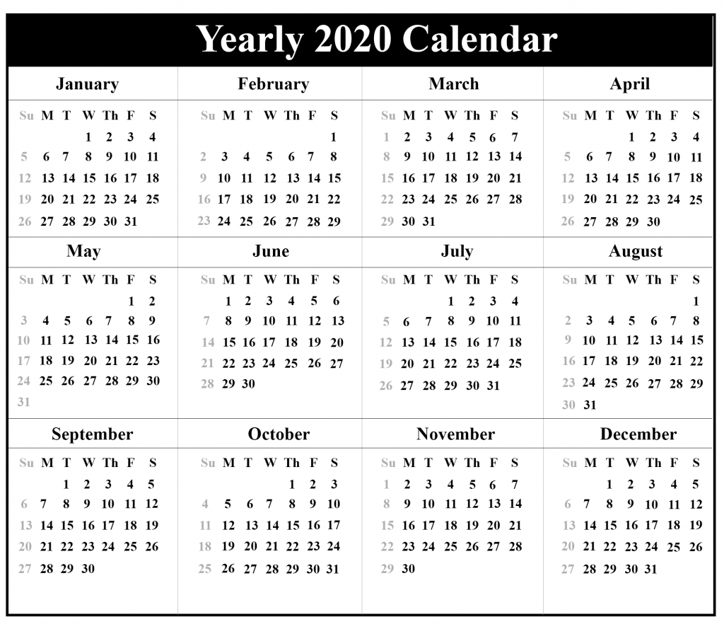 😄free Blank Australia 2020 Printable Calendar In Pdf Word