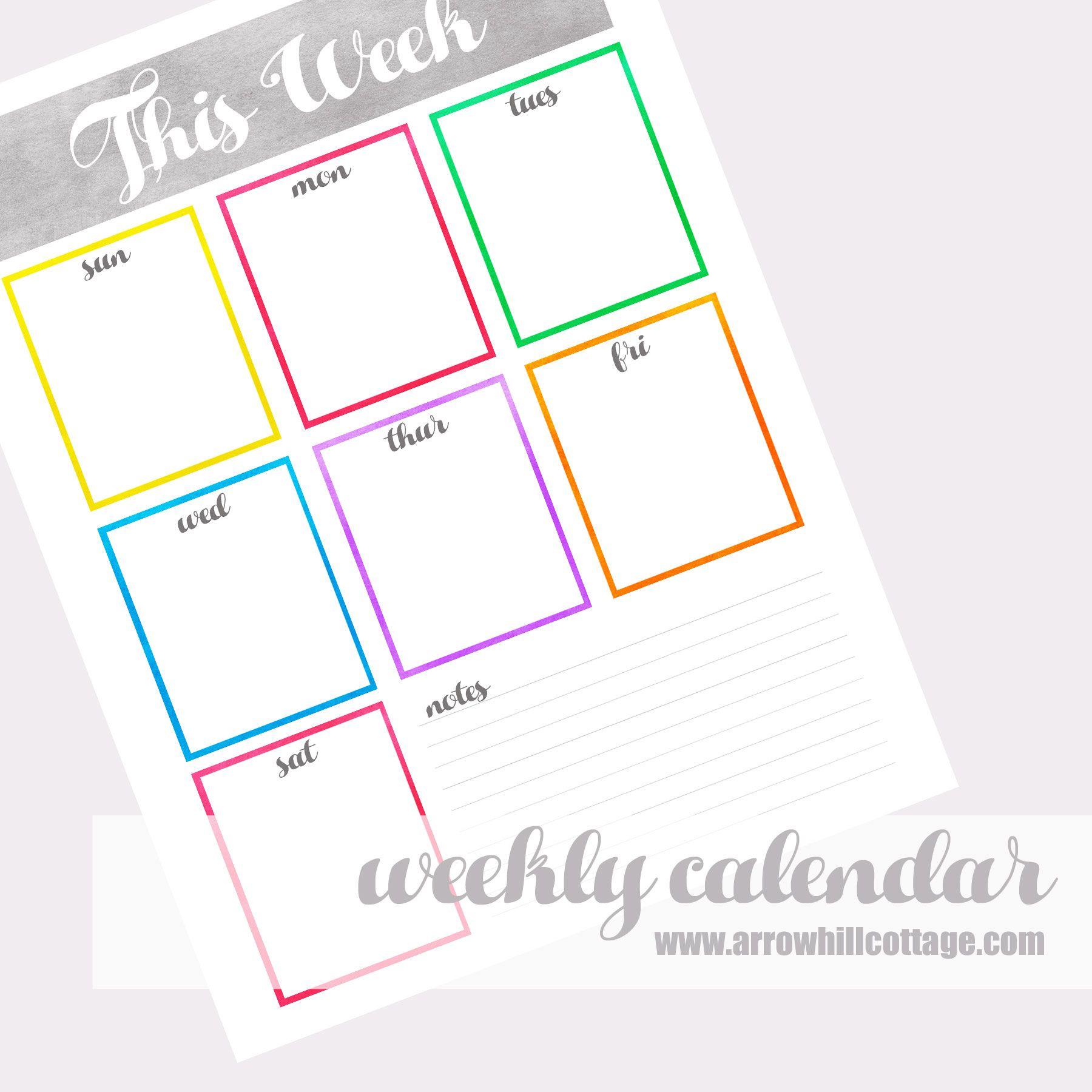 Family Command Center   At A Glance Calendar, Family Command
