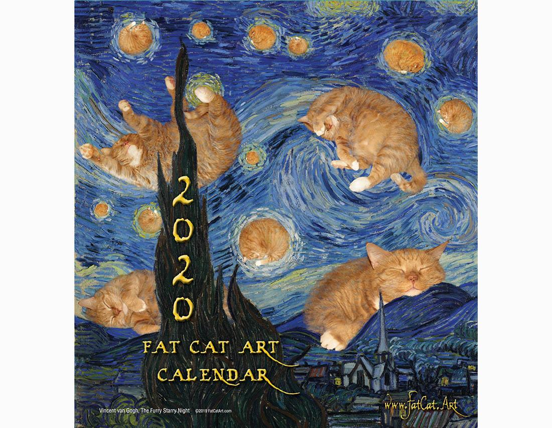 Fatcatart Calendar 2020 | Fatcatart