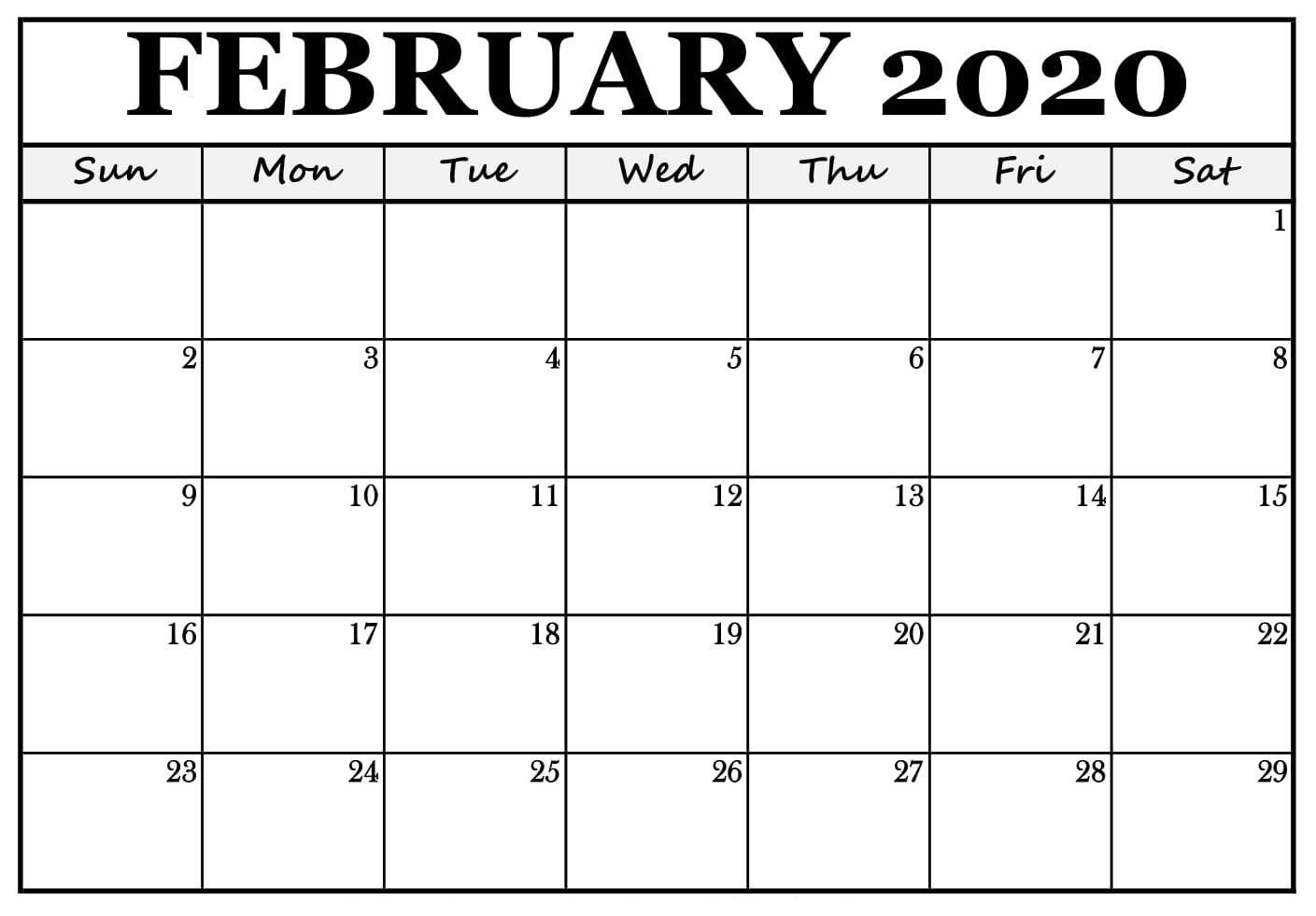 February 2020 Calendar Nz (New Zealand) - 2019 Calendars For