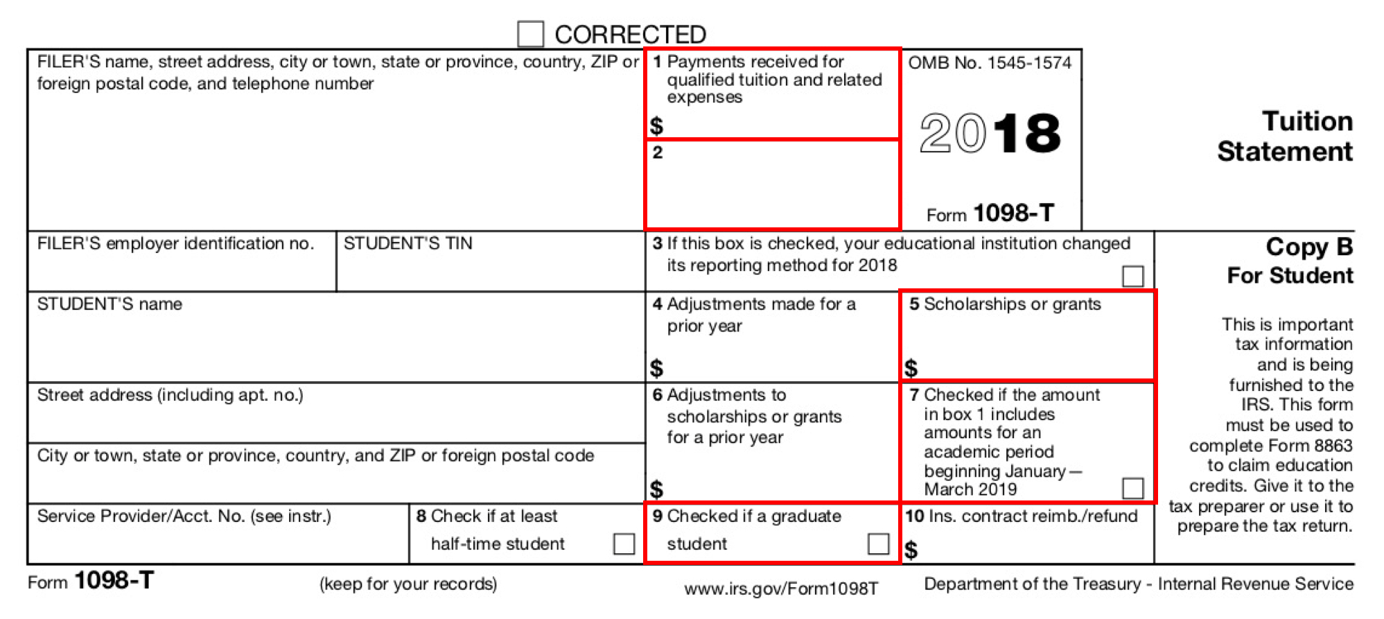 Form 1098-T: Still Causing Trouble For Funded Graduate