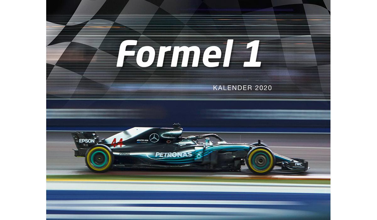 Formula 1 2020 | Picture Calendar With Logo Printed | Deprismedia