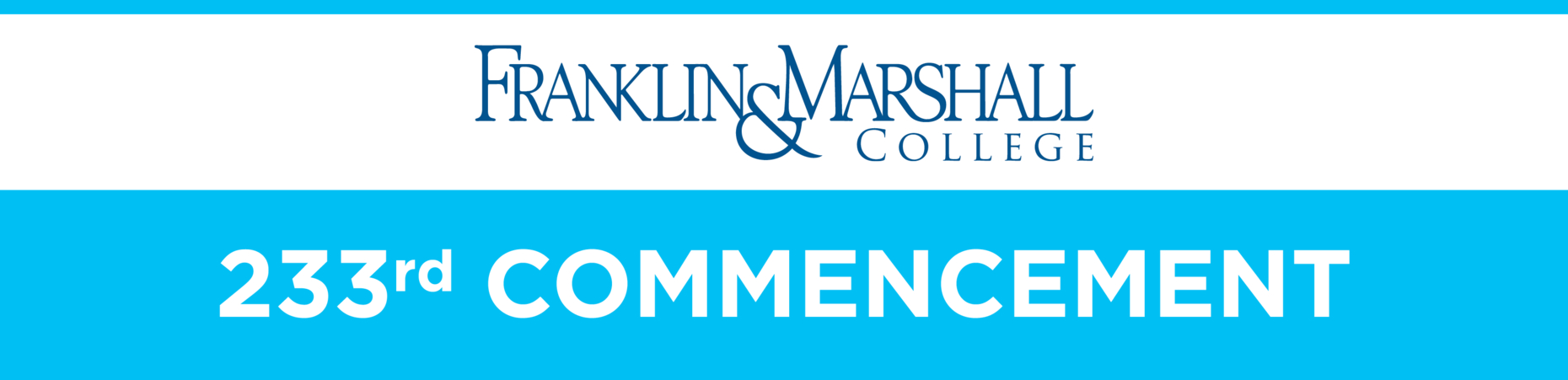 Franklin & Marshall - Commencement 2020