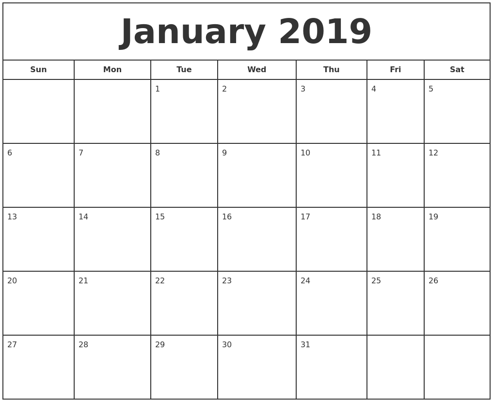 Free Calendars To Print - Wpa.wpart.co