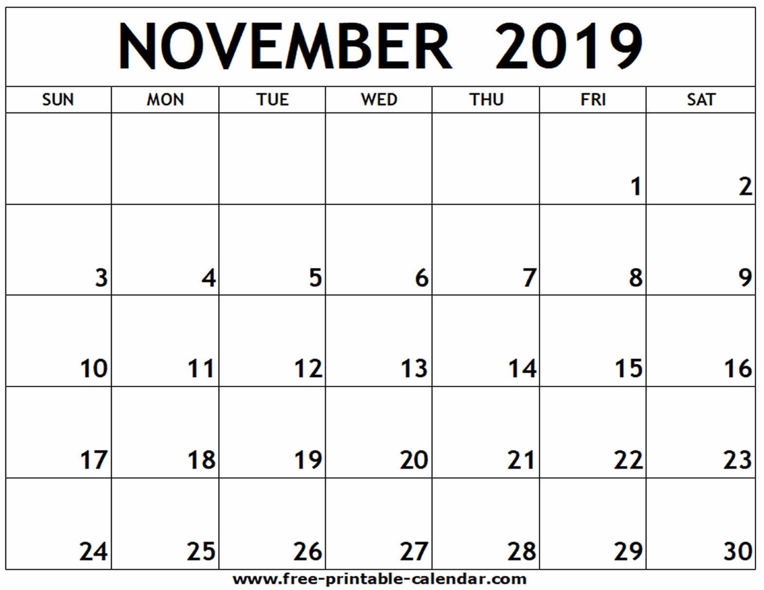 Free Print Calendar - Wpa.wpart.co