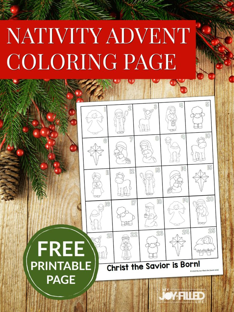 Free Printable Advent Calendars - My Joy-Filled Life