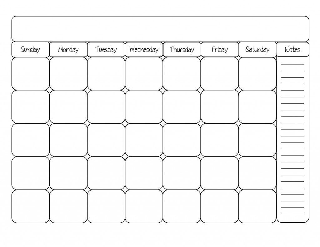 Free Printable Calendar Template | Life Organization