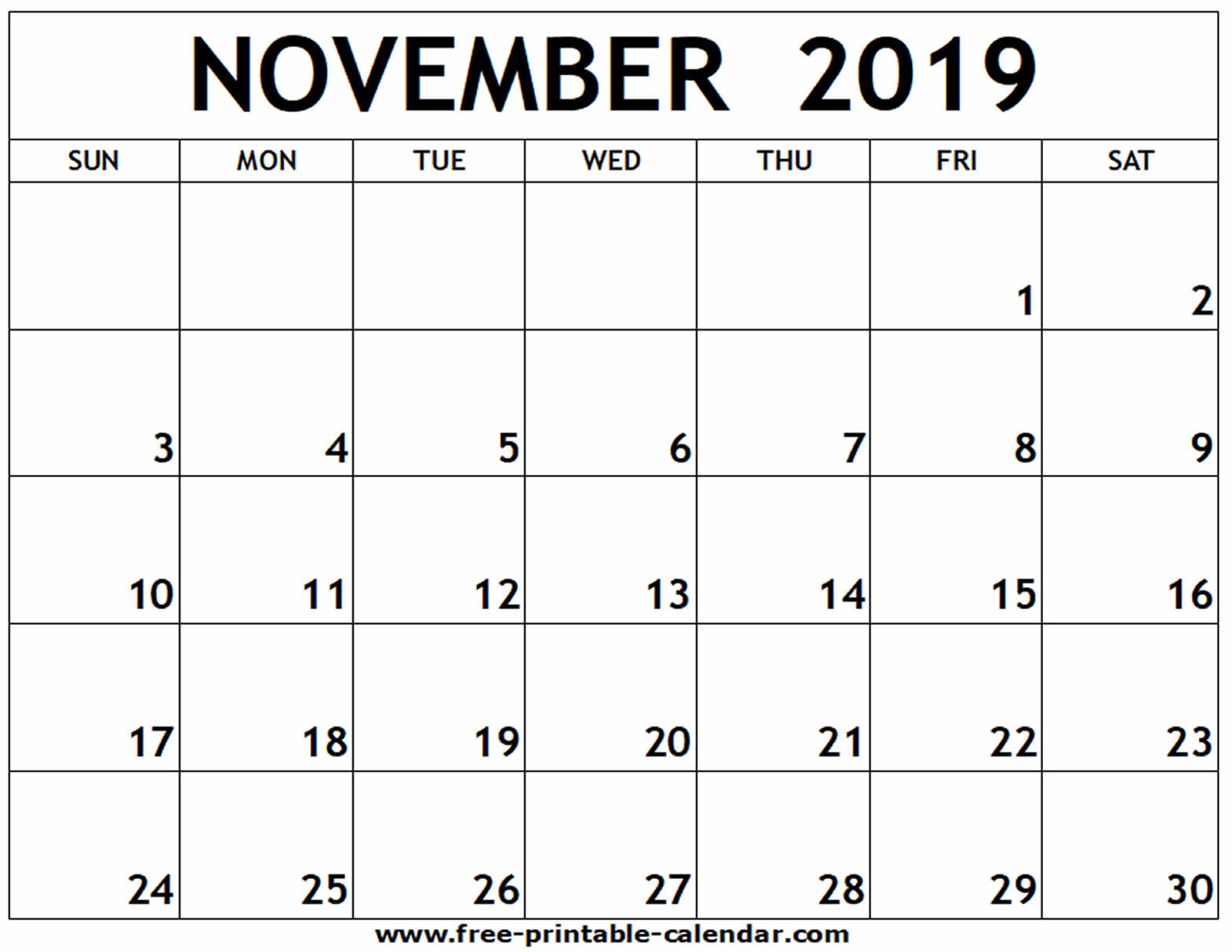 Free Printable Calendars - Wpa.wpart.co