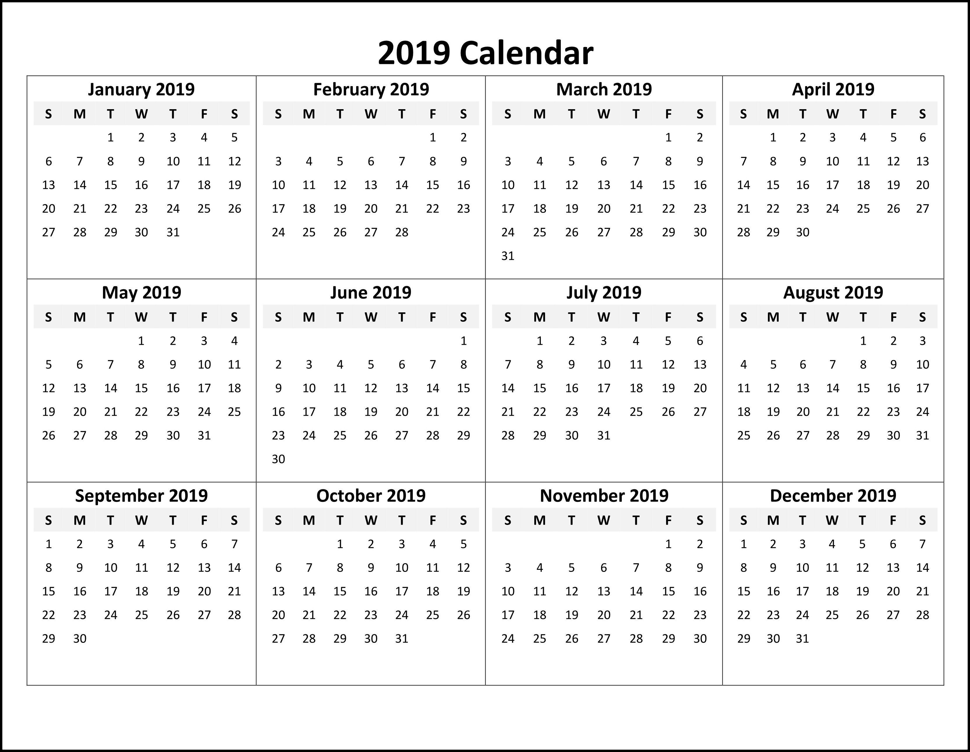 Free Printable Online Calendar - Wpa.wpart.co