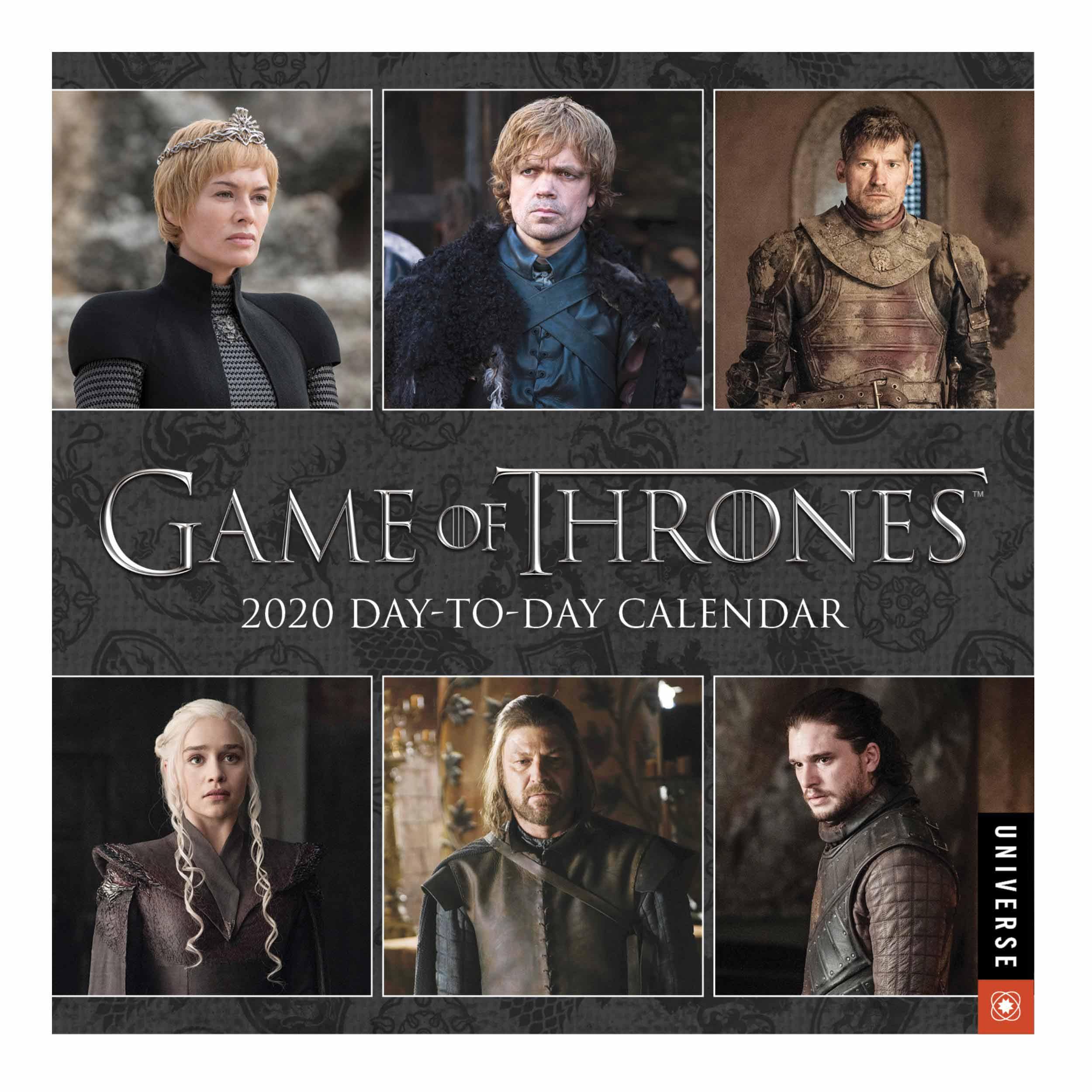 Game Of Thrones Official Desk Calendar 2020