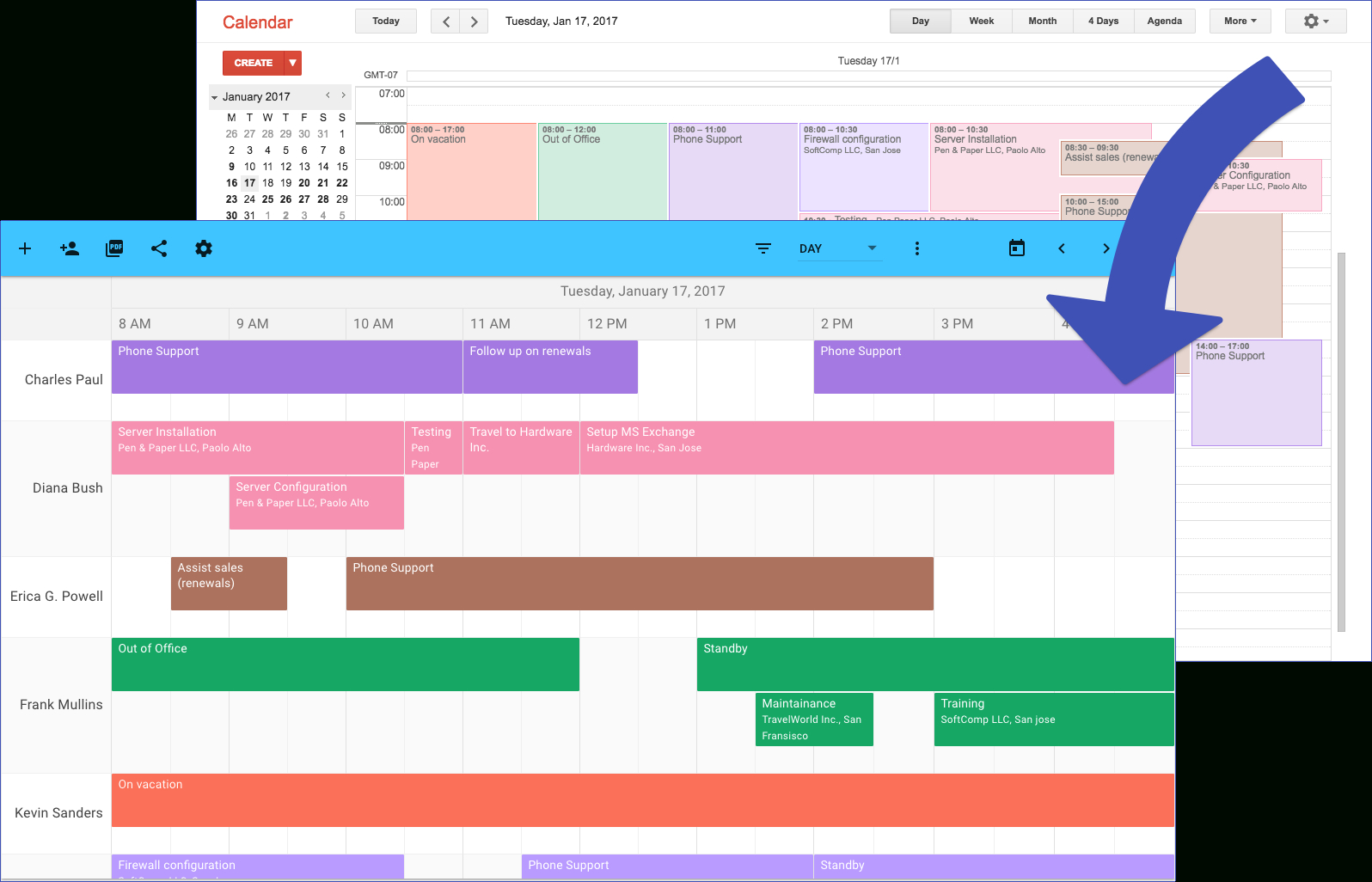 Ganttplanner: Turn Your Google Calendar Into A Gantt Chart