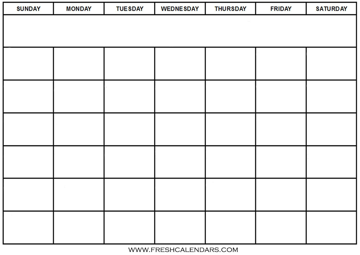 Generic Calendar Template - Wpa.wpart.co