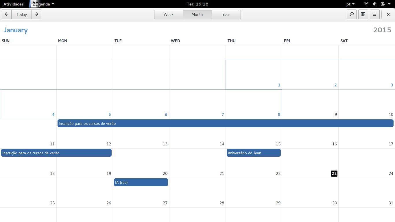 Gnome Calendar 3.15.3 – Georges Stavracas