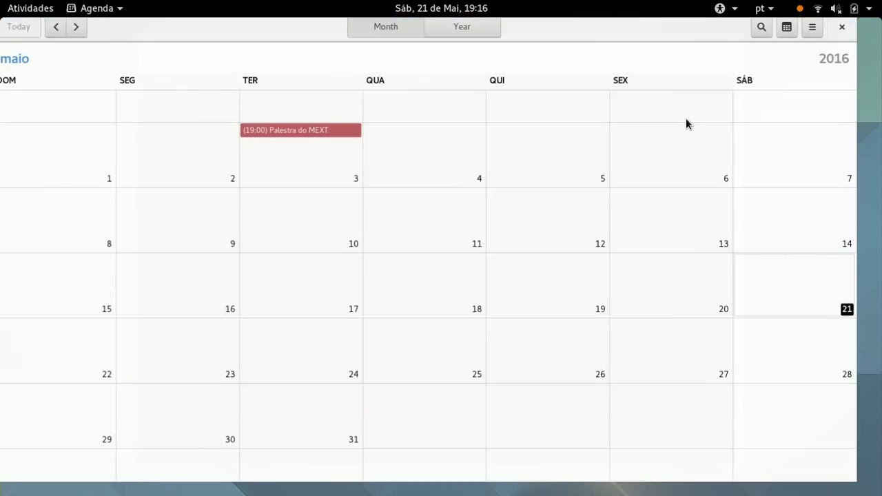 Gnome Calendar And Drag N' Drop – Georges Stavracas