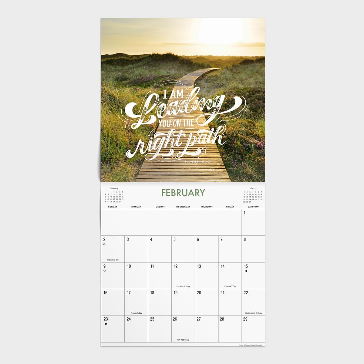 God's Promises - 2020 Wall Calendar
